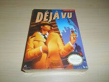 Deja Vu Brand New Factory Sealed Nintendo NES Game Original Déjà Vu
