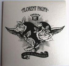 "FLORENT PAGNY - CD SINGLE PROMO ""LÀ OÙ JE T'EMMÈNERAI"""