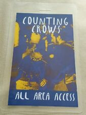 Counting Crows Laminated Backstage Pass Aaa
