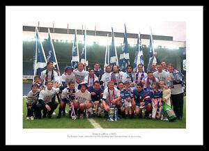 Rangers '9 in a Row' 1997 League Champions Photo Memorabilia (623)