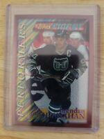 1996-97 Topps Finest PERFORMERS Brendan Shanahan Hartford Whalers Card #P20