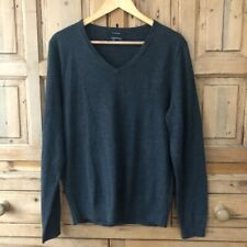Nordstrom Mens Shop L Merino Wool V Neck Sweater