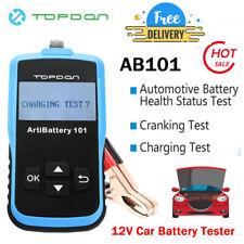 12V Car Battery Load Tester Alternator Analyzer Diagnostic Tool Auto Scanner US