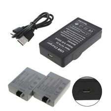 USB Battery Charger For Canon LP-E5 EOS 1000D 450D 500D Kiss F Kiss X2 Rebel Xsi