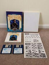 """SID MEIER'S RAILROAD TYCOON BIG BOX ORIGINAL IBM PC 3.5"""" FLOPPY DISK FREE POST"""