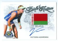 "VICTORIA AZARENKA ""PRIDE OF THE NATION AUTOGRAPH CARD"" LEAF GRAND SLAM 2018"