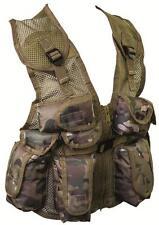 Kids Camouflage Assault Vest Childrens MTP/HC/BTP Camo Action Vest Army Forces