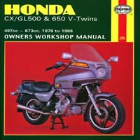 HAYNES Repair Manual - Honda CX500 CX650 GL500 GL650 V-Twins (1978-1983) 442