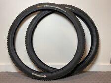"(2) Continental Mountain King 2.2 Clincher Mountain Bike Tires 26""x2.2"" FRESH"
