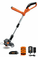 "WG155 WORX 10"" 20V Lithium GT Cordless Grass Trimmer & Edger"