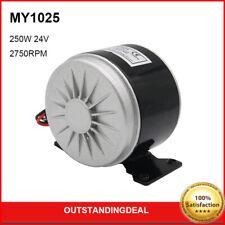 My1025 E Bike Electric Permanent Magnet Dc Motor Brushed 250w 24v 2750rpm