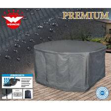 Premium Schutzhülle für ovale Garten-Sitzgruppe  240 x 190 x 90 cm