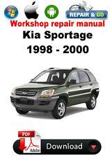 Kia Sportage 1998 - 2000 Factory Workshop Repair Manual