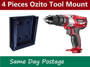 4 Pieces - Ozito 18V Skin Holder- tool Mount battery bracket storage
