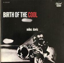 MILES DAVIS BIRTH OF THE COOL CD CAPITOL JAZZ 1989 USA CLUB PRESSING