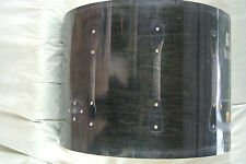 "1996 Ludwig 22"" SUPER CLASSIC BASS DRUM SHELL CHARCOAL SHADOW for YOUR SET! #A71"