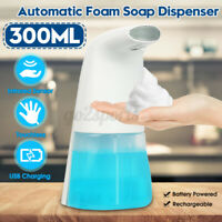 300ml Waterproof Foam Liquid Dispenser Automatic Soap Dispenser Sensor Touchless