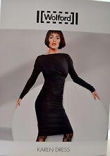 Wolford Karen Dress Kleid black schwarz M Medium Empire-Stil