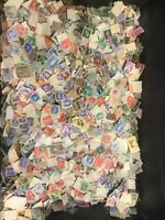 5000 WORLD STAMPS, , vintage pre decimal go and world with qv lilacs.
