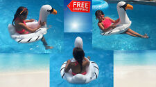 White Swan kids toddler inflatable pool floats tube seat raft ring Party Toy