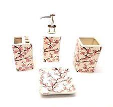 Pink Bathroom Accessories For Sale | EBay