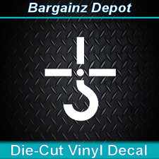 """BLUE OYSTER CULT.. Vinyl Decal Sticker Record Logo Laptop Car.. Perfect Size 5"""""""