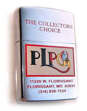 Zippo Beautiful 1995 PLPG 2-SIDE SWAP MEET NEWSPAPER COVER Limited Edition RARE!