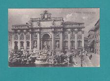 Roma Fontana Trevi The Trevi Fountain Italy Rome Vintage Postcard Real Photo