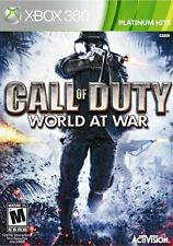 Call of Duty: World at War -- Platinum Hits (Microsoft Xbox 360, 2010) Brand New