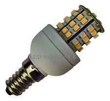 E14 ses 48 SMD LED Bombilla 210LM 3W Blanco Cálido ~ 45W