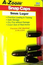 A-Zoom Precision Metal Snap Caps  9mm. Luger  #15116 ( 5 per Package ) new!