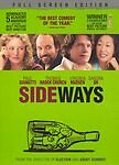 Sideways (DVD, 2005, Full Screen)