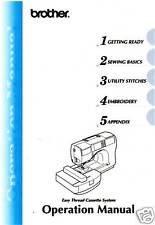 BROTHER SE-270D Sewing Machine Owner's MANUAL ON CD