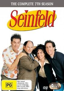 Seinfeld Volume 6 The Complete 7th Season -DVD Series Comedy -Excellent