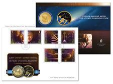 Einstein & Hawking 100 Years General Relativity Starmus Special Envelope (UK96)