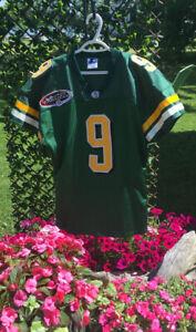 CFL Edmonton Elks Eskimos Starter Authentic game worn jersey