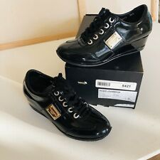 Dolce&Gabbana Womens loafers shoes Leather Platform Fashion Sneakers 8-8,5