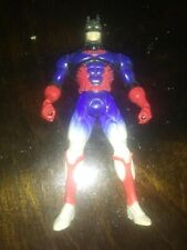 Batman 1997 DC Action Figure Toy Red White And Blue Kenner