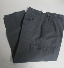 New Men's Dockers Pacific Comfort Classic Fit Cargo Pants Gray Size-36x29