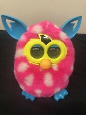 Hasbro,Furby,Boom,Pink Teal White,Polka Dot,Good Condition!