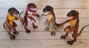 Godzilla Hatchling Lot of 4 Different Figures 1998 Trendmasters Toho Movie