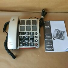 Amplicomms BigTel 40 Plus Big Button Telephone With Operating Instructions