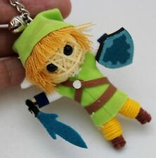 LINK LEGEND OF ZELDA KEYCHAIN KEYRING VOODOO STRING DOLL HANDCRAFT HANDMADE GAME