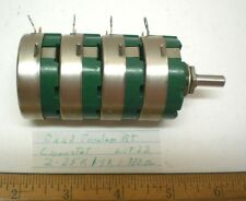 1 Quad Tandem Potentiometers 2-25K, 1-1K, 1-.3K CLAROSTAT, Lot 22, Made in USA