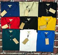 Burberry Brit Men's Short-Sleeve Pique Polo Shirt Check Placket S M L XL XXL 3XL
