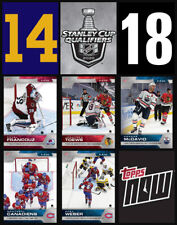 SCP14-SCP18 2020 NHL TOPPS NOW Hockey Sticker Pack Print Run 218 Only Made!
