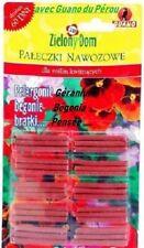 Engrais Bâtonnets pour Plantes fleuries avec GUANO , les pots / balcons