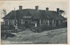 The Corner House Cafe, St Margaret's Bay..  Krnt Vintage Postcard