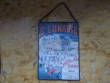 cadre plaque souvenir reproduction vintage carte postale.