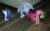 My Little Pony Hasbro Bundle Joblot X2 Small Ponies , butterly wings 1 X other